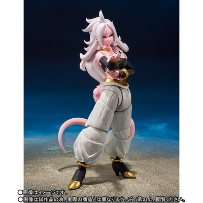 TOYSECO 日版 魂限定 龍珠 DRAGON BALL FIGHTER Z SHF 人造人間21號 ANDROID 21 S.H.FIGUARTS 可動