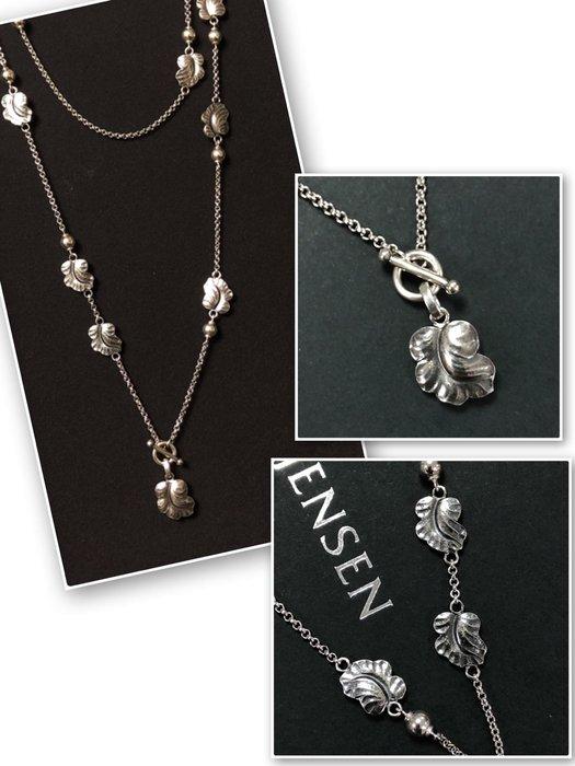 【小麥的店】Georg Jensen 喬治傑生葡萄葉 Moonlight Grapes 純銀項鍊 #551 (53cm)