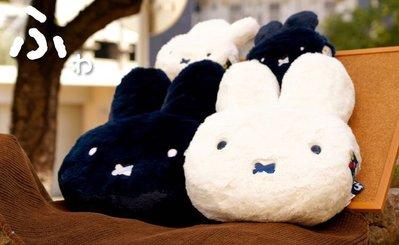 Verna&Co{現貨}日本進口米飛兔miff絨毛娃娃顏型抱枕靠枕