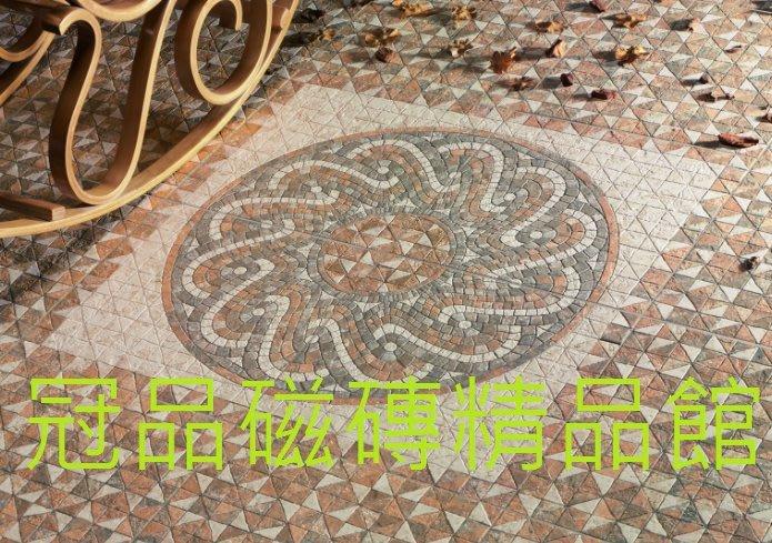 ◎冠品磁磚精品館◎西班牙進口精品 地毯花磚之二(四片一組)88.4X88.4 CM