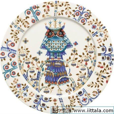 Taika貓頭鷹魔幻森林27cm餐盤,芬蘭Iittala碗盤特價9折!🌟最特別的禮物都在奧爾思🌟