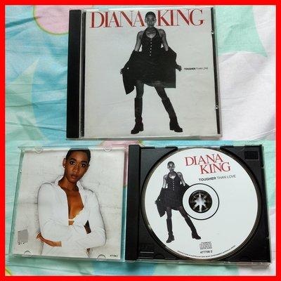 ◎1996年-澳洲版?黛安娜金恩-愛得更堅強專輯-Diana King-Tougher Than Love等10首-CD