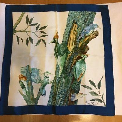 *salena9804*   日本買回  nina ricci  絲巾     pigi