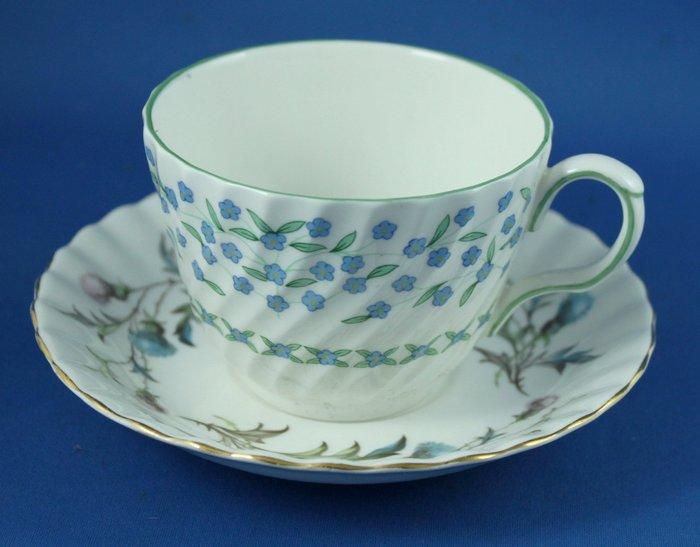 [美]英國百年名瓷ANYSLEY骨瓷茶杯組FORGET- ME- NOT+  BRIGADOON系列