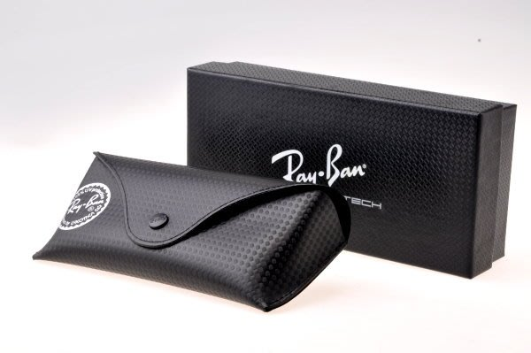 ☆補貨中☆正品 RAYBAN 雷朋軟式眼鏡盒~公司貨配件~限量版碳纖維紋路有1個錯過就沒囉
