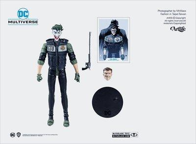 ArtLife @ McFarlane DC MULTIVERSE BATMAN JOKER 麥法蘭 白衣騎士 小丑