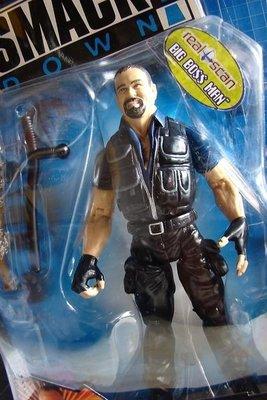 2000 美職摔角 SMACK DOWN WWF 大老闆 BIG BOSS MAN TRAYLOR 特雷勒 富貴玩具店