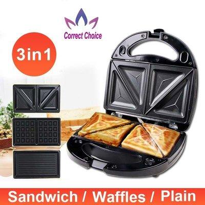 electric sandwich maker panini waffle cake breakfa艾佳雜貨舖