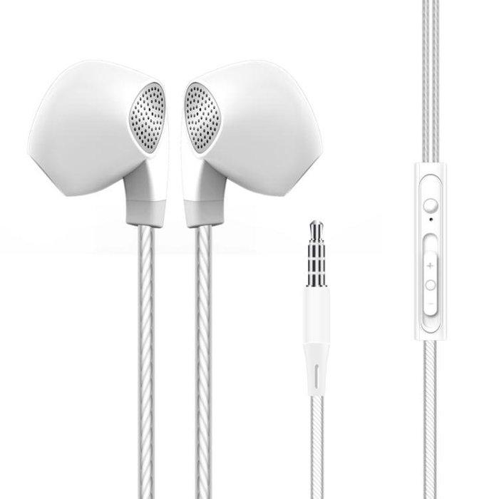 庫·曼 魅族耳機入耳式金屬MX5pro6魅藍E2 note5 3 2手機線控耳塞