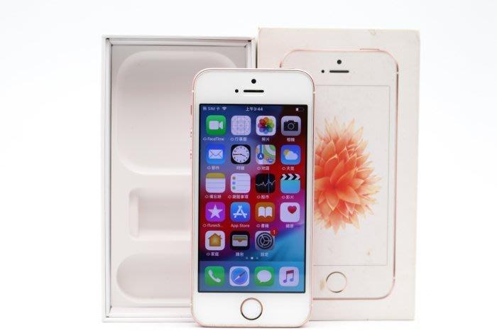 【高雄青蘋果3C】APPLE iPhone SE 16G 16GB 玫瑰金 iOS 12.1.4 二手手機 #36801