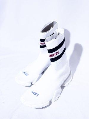 VETEMENTS Logo Socks high-heeled shoes.襪套鞋 休閒鞋