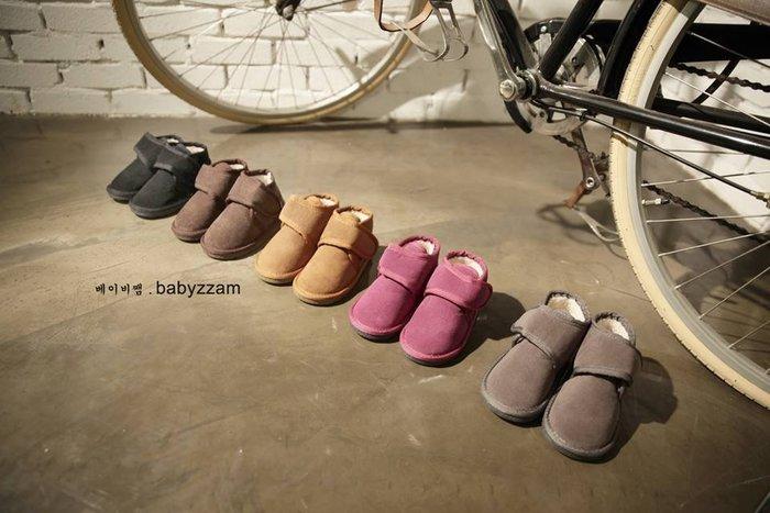 『※妳好,可愛※』韓國童鞋 Babyzzam~魔鬼氈雪靴 靴子 兒童靴子 兒童雪靴 (7色)