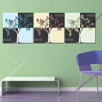 【30*30cm】【厚0.9cm】抽象畫-無框畫裝飾畫版畫客廳簡約家居餐廳臥室牆壁【280101_270】(1套價格)