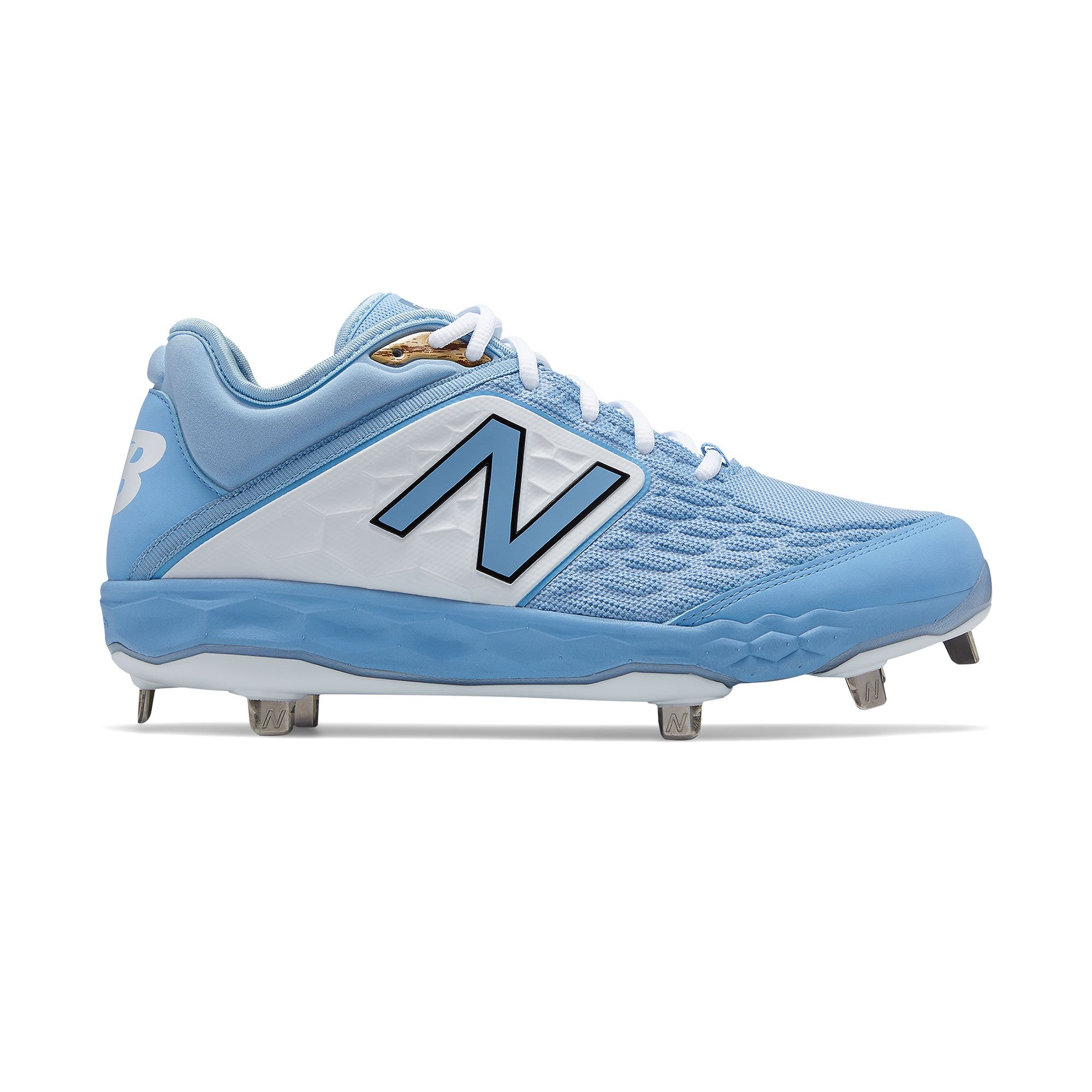 New Balance NB L3000SD4 2E 寬 棒壘球鞋 鐵釘 水藍白