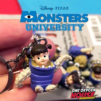Disney Monster uniyersity 怪獸大學 阿布 鑰匙圈 吊飾 布偶裝 公仔 玩具 怪獸電力公司