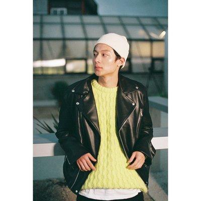18F/W (LAFUDGESTORE) Buffing Leather Rider Jacket 騎士夾克/男女皮衣