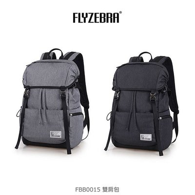 *Phone寶*FLYZEBRA FBB0015 雙肩包 大背包 後背包 背包 簡約雙肩包