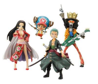 【動漫瘋】 日本正版 Half Age Characters 海賊王 半Q版 2 兩年後 一般版 4款 喬巴 女帝 索隆