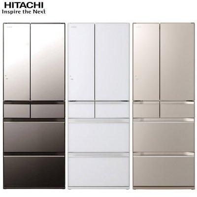 HITACHI日立569L變頻6門電冰箱 RKW580KJ 另有特價 RG620HJ RHW610JJ RG680J