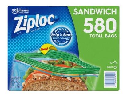 好市多專職代購--Ziploc 可封式三明治保鮮袋 580入
