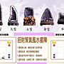 ?【168 精品】?烏拉圭頂級意象紫晶鎮(含木座)重580g,辦公室、住宅最佳擺飾風水石【C100】