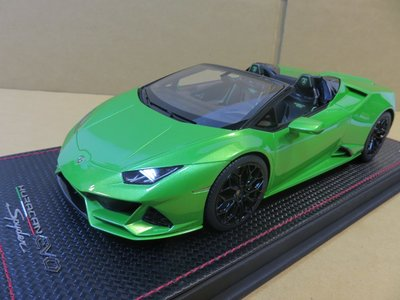 =Mr. MONK= 1/18 MR Lamborghini Huracan Evo. Spyder