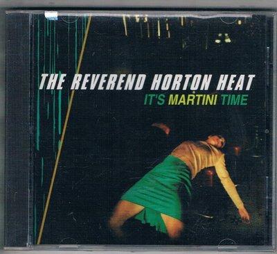 [鑫隆音樂西洋CD-賀加狂熱份子合唱團 Reverend Horton Heat : 馬汀尼時間 {INTD90065}