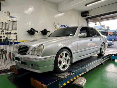 車況優 該整理都整理過 2002年 賓士 W210 E280 V6 Avantgarde 不包含圖中鋁圈 煞車 排氣管