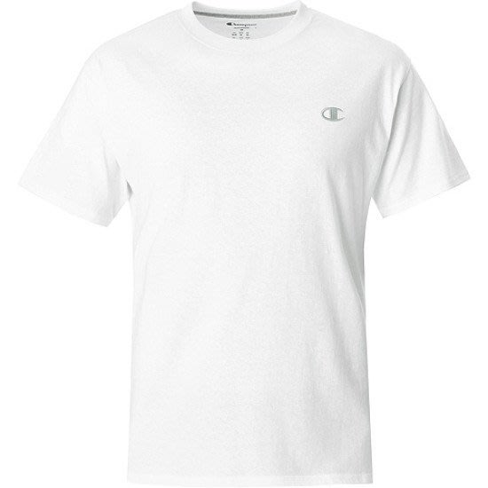 【紐約范特西】2016 美版 Champion Basic Logo 白色棉質短袖Tee T2226-045