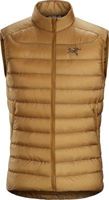 ARC'TERYX始祖鳥 CERIUM LT背心 駝色Yukon 男裝 輕薄而用途多樣的羽絨背心,輕薄而保暖。羽絨系列