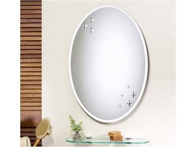 HM-075 防霧化妝鏡 台灣製造防霧鏡 華冠牌衛浴鏡 除霧鏡 (浴鏡、防蝕明鏡) 台中市
