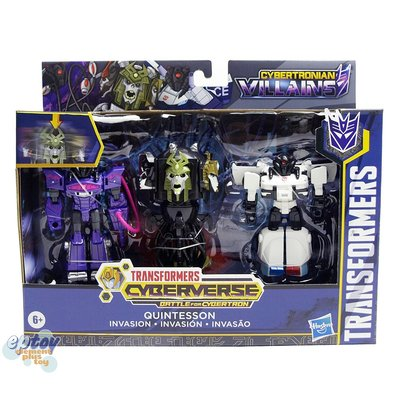全新正版 變形金剛 Transformers Cyberverse Cybertronian Quintesson Judge Shockwave Prowl