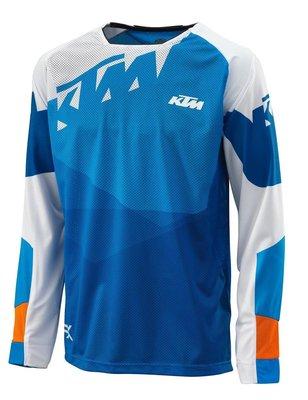 TLD/KTM SE越野賽車球衣 機車自行車騎行服長袖 速降服透氣服長袖騎行服長袖t恤 機動車速幹排汗賽車T恤