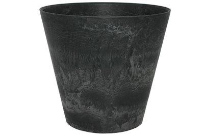 motive Artstone 花盆水盤組 (XS 黑色)