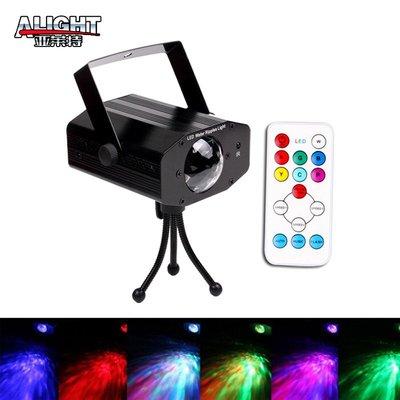 跨境專供 遙控7色LED水紋燈 動態舞台中燈 亞馬遜 amazon ebay