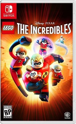 LEGO The Incredibles 樂高超人特攻隊 中英文合版 for Nintendo Switch NSW-0286