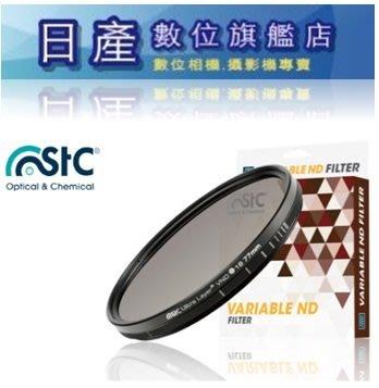 【日產旗艦】台灣製 STC VND 82mm 可調式 減光鏡 ND16-ND4096 可調減光鏡 公司貨 送拭鏡筆