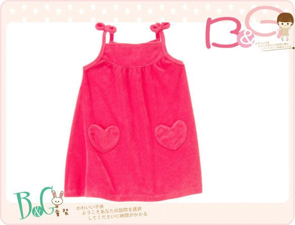 【B& G童裝】正品美國進口Crazy8 紅色背心裙泳裝罩衣18-24m,2,3,4,5yrs