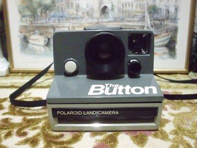 歐洲古物時尚雜貨 拍立得 老相機 The Button  限量已停產 古董相機 擺飾品 古董收藏