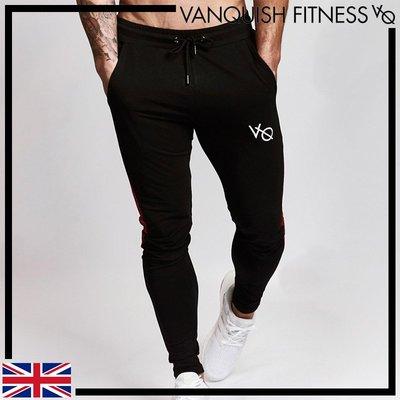 ►瘋狂金剛◄ 黑 VANQUISH EDGE TAPERED SWEATPANTS 凸顯腿肌運動褲