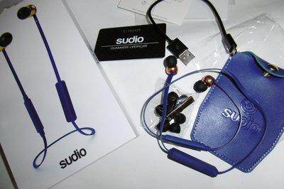 [零件耳機]Sudio Vasa Bla瑞典設計 藍芽耳道式耳機 與配件 全新耳塞皮套(B&W AKG三角鐵可參考)