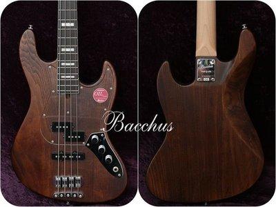 【又昇樂器.音響】日廠 Bacchus Bacchus PJ-WOOD LINE ASH4/E BR/OIL 電貝斯