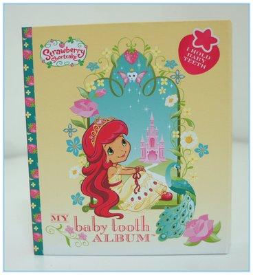 【DEAR BABY】美國 Baby tooth album 乳齒/乳牙保存盒 乳齒盒 單CD精裝版 草莓公主 現貨
