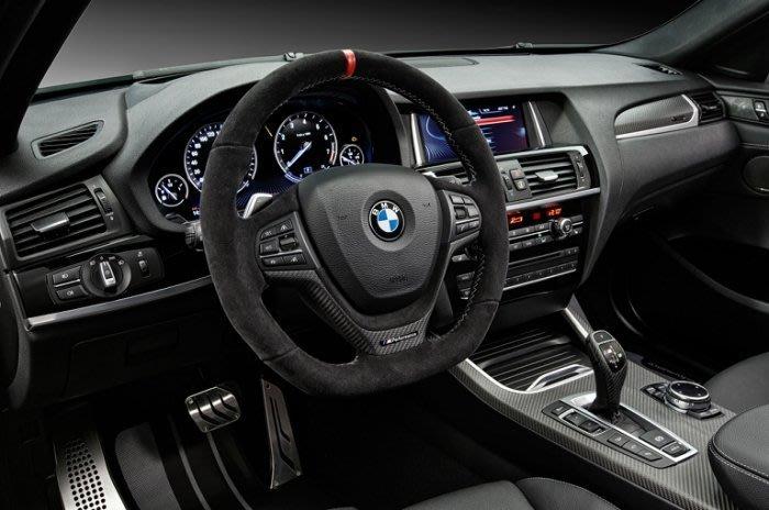 【樂駒】BMW 原廠 X3 F25 F26 X4 M Performance 方向盤 套件 皮革 Alcantara
