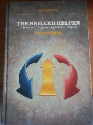 (20)原版精裝《The Skilled Helper》ISBN:0534121381│些微泛黃