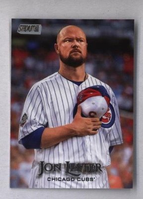 2019 Topps Stadium Club #64 Jon Lester - Chicago Cubs