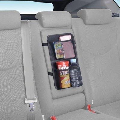 車資樂㊣汽車用品【W795】日本 SEIWA  多功能後座中央扶手調整帶固定式飲料置物收納袋
