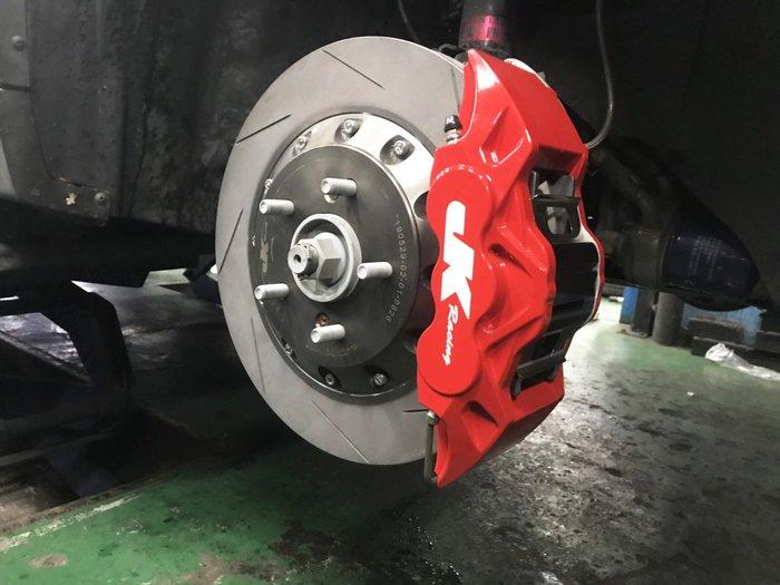 JK Racing 新版 鍛造六活塞卡鉗 搭配330劃線碟 U6 S5專用