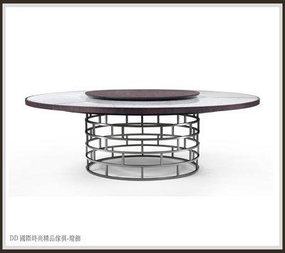 DD 國際時尚精品傢俱-燈飾FLEXFORM CROWN (復刻版)訂製 大理石餐桌