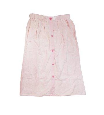 特價浴裙!! 100% 純棉 粉色 浴裙  狗狗壓紋圖案 沙龍 SPA M-025